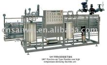 tuble type  juice  milk pasteurizer
