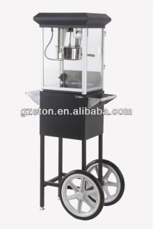 CE certificate Popcorn Popper popper and cart - S.S. popcorn pot
