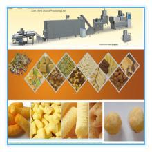 Puffed/inflated snacks extruder food machine/ food machine