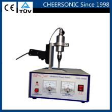 ultrasonic fabric textile table cloth hand handheld cutter cutting slicing machine