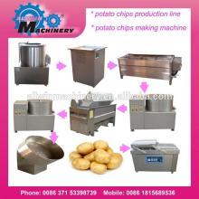 small scale 30kgs/hour  potato   chips   machine   potato   chips  making  machine