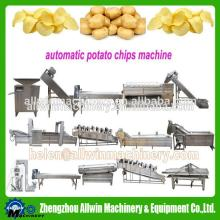 Full Automatic stainless steel Fried potato chips machine