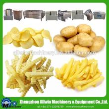 industrial potato chips making machine