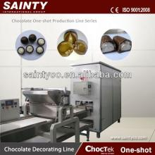 Top Quality hot selling rice chocolate bars production line with chocolate coating outside