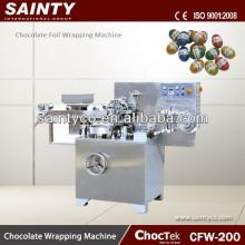 Center Filling Hard  Candy   Packer  CFW200 Cho co late Foil Wrapping Machine