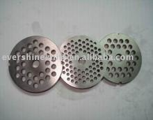 double notches  meat   mincer   plate