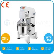 B20 Planetary Mixer - 20 Liters, With Timer, With Guard, CE, Belt  Transmission , B20K