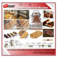 YX/CB600 Automatic chocolate coated candy bar production line