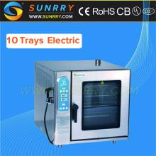 Electric Combi Oven Professional Combi Oven 10 Trays Electric Steam Oven (SY-CV10B SUNRRY)