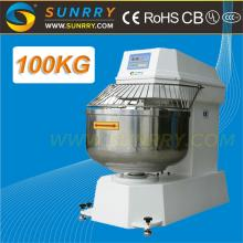 Double Motions and Double Speeds Dough Spiral Mixer 100KG Flour Spiral Dough Mixer for CE (SY-SM100R
