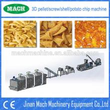 High Efficiency Large  Fried   Snack   Pellet  Machine