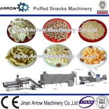Co-extruded Puffed Extruded Corn Snack Food Making Machine