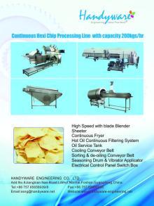 Hexi potato chips line