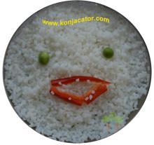 Shirataki noodles.Konjac noodles. Konjac Rice. Low calorie Rice