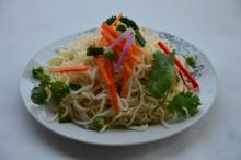 konjac  noodles-  spaghetti  with sugar free made from Glucomannan