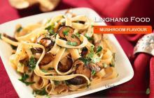 Mushrom  flavor Instant noodles with OEM service