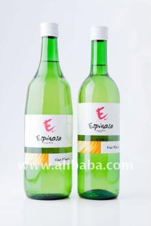Spanish White and Dry Wine. Different formats