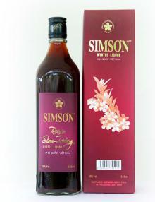 Myrtle Liquor 30% vol SIMSON