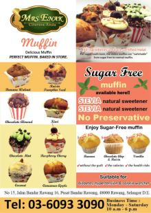 MRS Enak Stevia Muffin