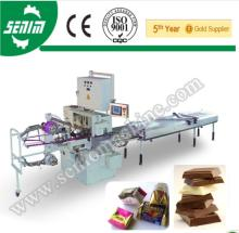 SS Square Dark Chocolate fold Pack Machine