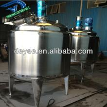 Juice   syrup  stainless steel tank with emulsifier
