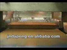 Chocolate Coating (Enrober) Machine/small chocolate coating machine