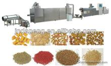 Jinan Eagle Floating fish food feed pellet field twin screw extruder type making processing line mac