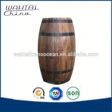 Wood Decorate Barrel