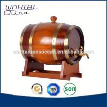 Large Wood Barrel