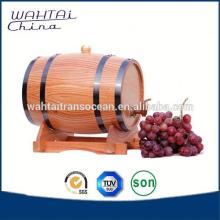 Wood   Wine  Barrel 4/ 8 Litres