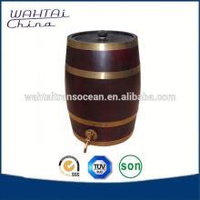 Large Wood Wine Barrel