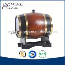 Oem Pine Solid Wood Wine Barrel
