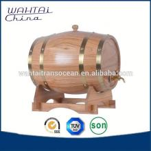 Beautiful Wood Barrel