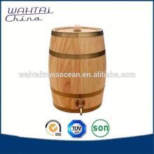 Handmade Wood Storage Cask