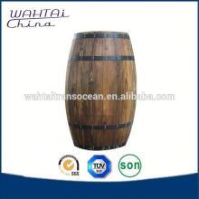 Decorate Wood Keg With Base