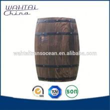 Handmade  Decorative Wood Barrel