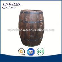 Oak Wood Decorative Wine Barrel