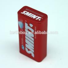 Different size and color for popular sale chewing gum box,mint  tin  box