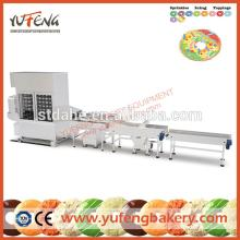 DPL Series big capacity cake/bread donut production line donut making machine