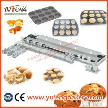 YUFENG Full Automatic Bear Cake, Muffin, Cupcake, Cake Machine Production Line