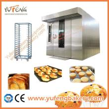 Hot selling electric gas bakery oven convection oven Rotary Oven