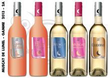 French wine AOC muscat de Lunel dry, semi-dry, sweet