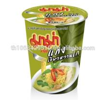 MAMA Cup instant noodles chicken green curry flavour