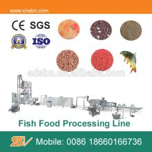 Fully Automatic 500kg/hr Fish Feed Pellet Machine/ Extruder/ Processing Line