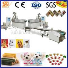New tech Single Screw Pet Treats Machine/production line/extruder