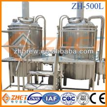 500l stainless steel  micro  brewery  system/ micro   brewery   equipment  CE ODM factory