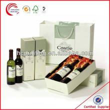 Fashion wine  box  package  design  printing in shanghai