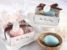 Easter Color Eggs nest clear pvc box