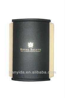 Custom Leather Champagne Box