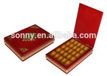 hot sell in alibaba china wooden empty chocolate packaging box